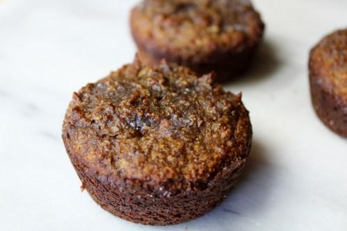almond flour banana muffins!