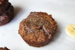 single banana muffin