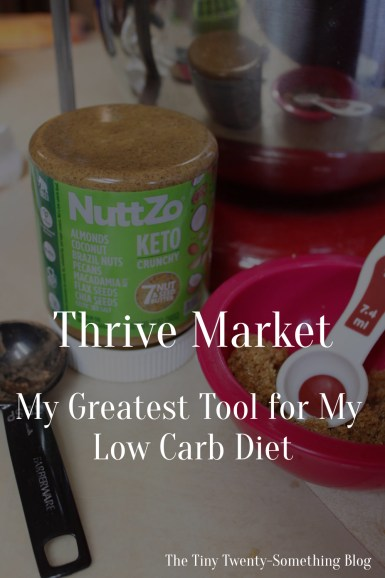 Thrive Market- Favorite Way to Save on Low Carb Items