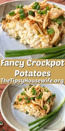 Fancy Crockpot Potatoes