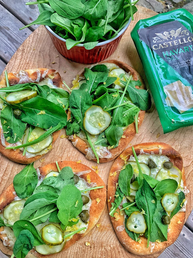 Dill Pickle Flatbreads