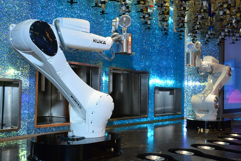 revolution the tipsy robot