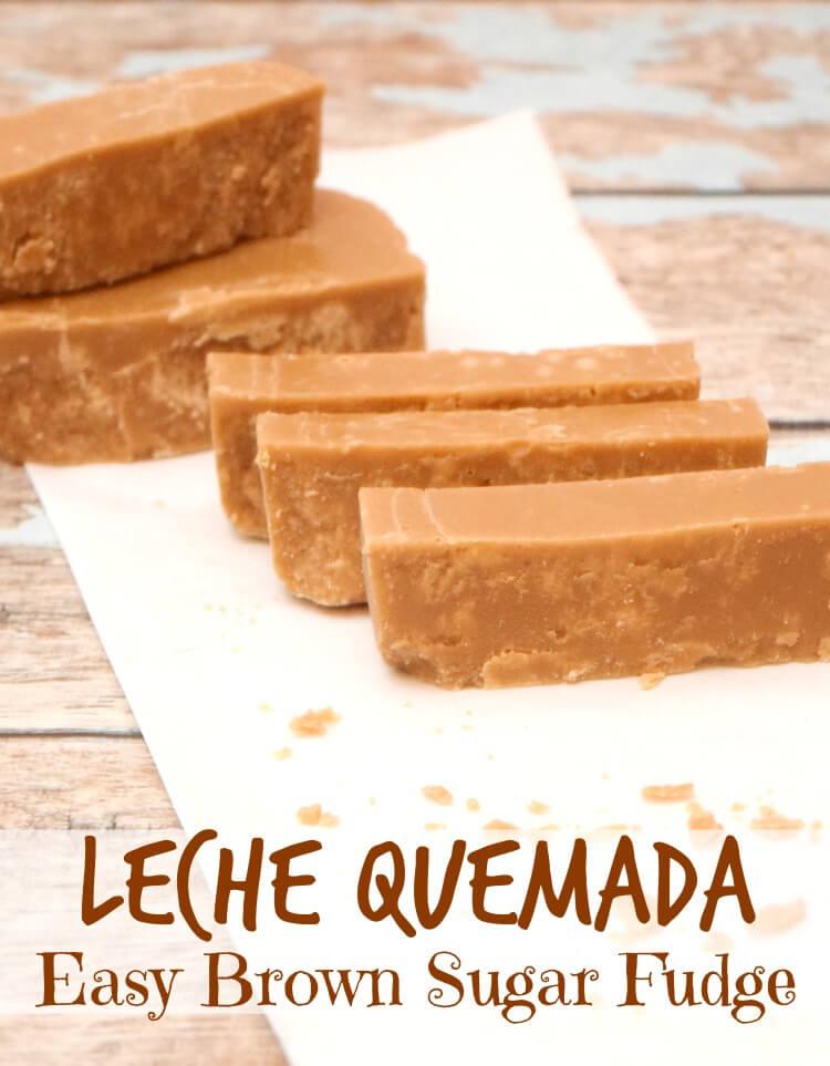 Leche Quemada - Easy Brown Sugar Fudge