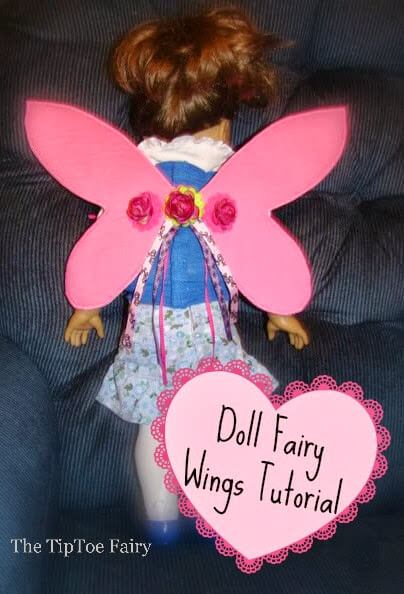 How to make Fairy Wings for American Girl Dolls