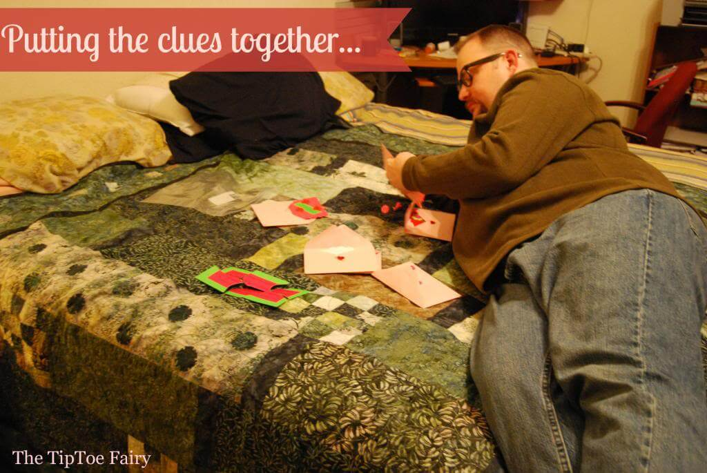 Putting the puzzle pieces together in the original clue