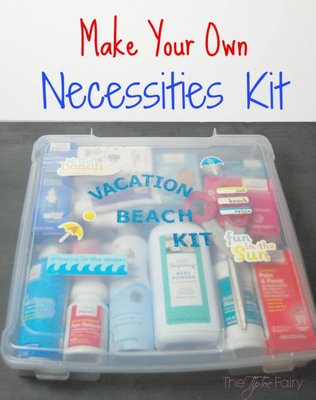 Going on Vacation? Make a Health Wellness Kit! Check this Beach Vacation Kit! | The TipToe Fairy #WellAtWalgreens #shop #vacationkit