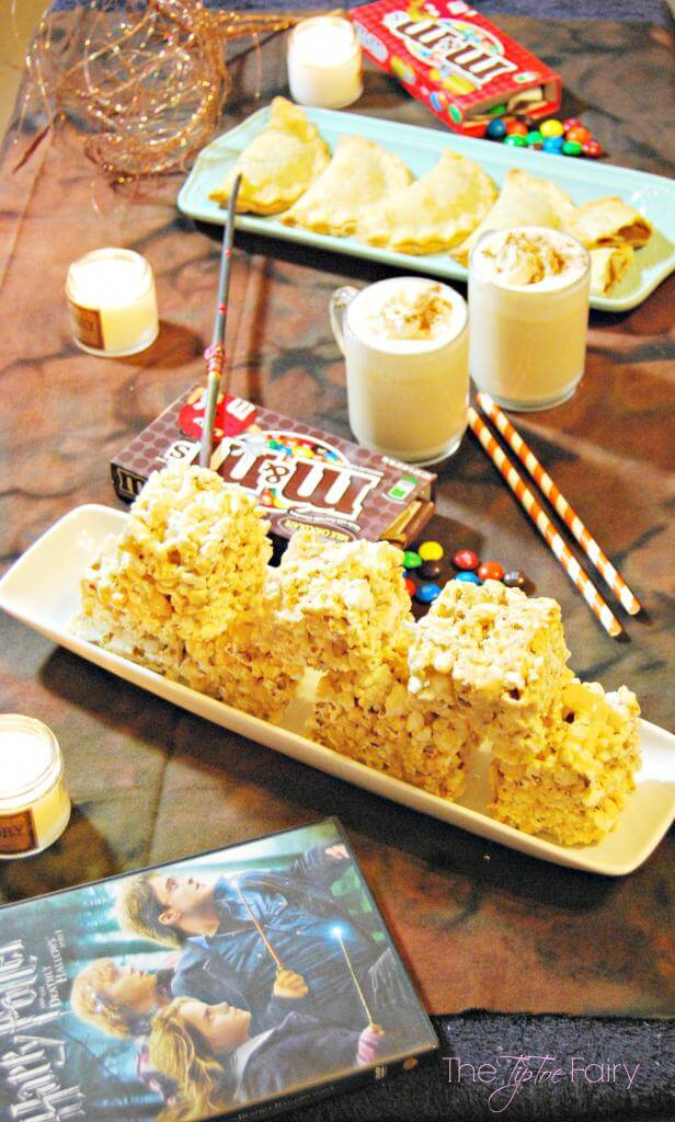 Harry Potter Butter Beer Popcorn for movie watching
