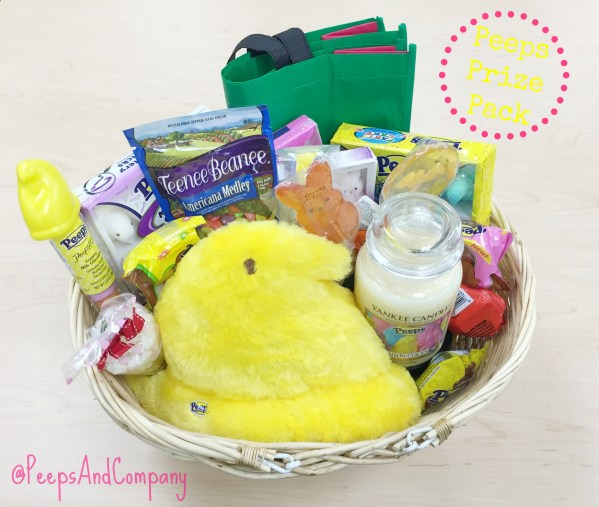 Win a PEEPS® Prize Pack - 3/8/15 through 3/16/15.