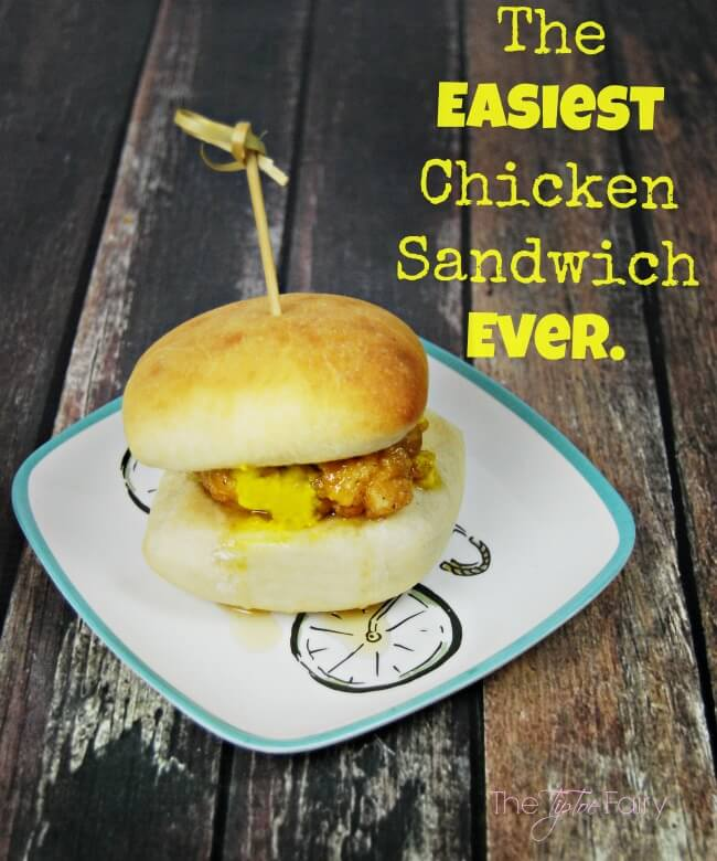 The EASIEST Chicken Sandwich Ever - perfect to go hand in hand with grilling season or as a quick meal or snack | The TipToe Fairy #KetchupsNewMustard #Ad