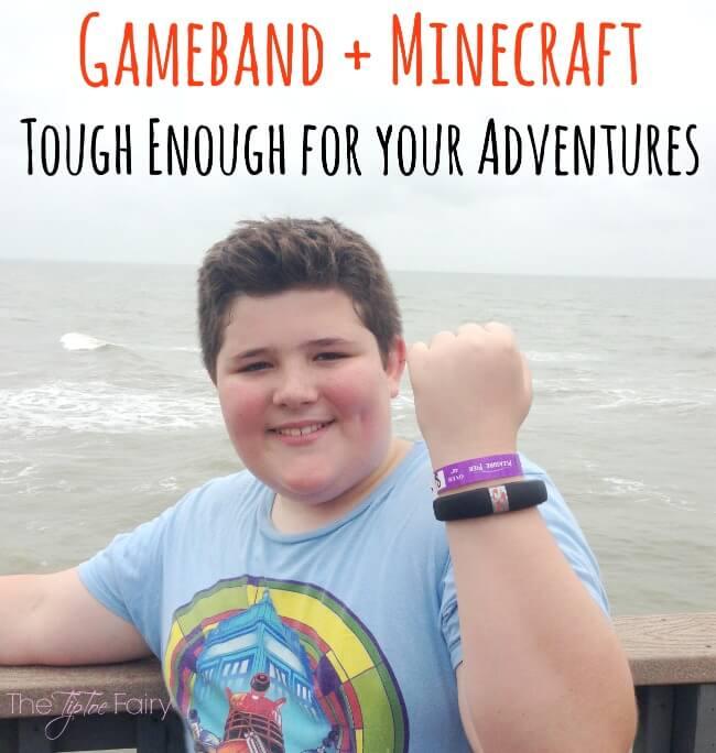Gameband + Minecraft - Tough Enough For Your Adventures #Gameband | The TipToe Fairy