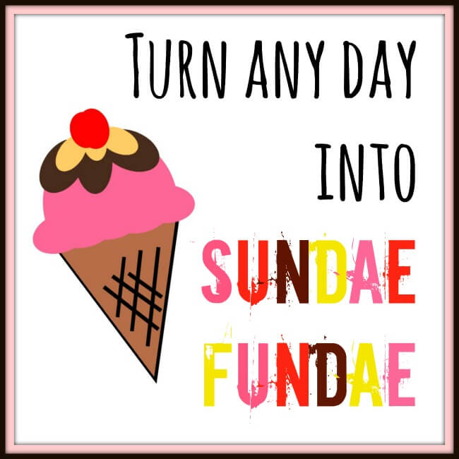 Turn Any Day into #SundaeFundae #ad | The TipToe Fairy