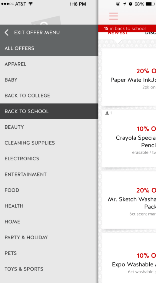 Save Big with the @Target Cartwheel app!! #BackToSchool #IC #ad | The TipToe Fairy