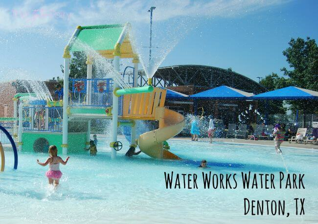 Review: Water Works Water Park in Denton, TX #ad | The TipToe Fairy