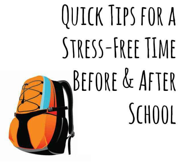 Tips for a Stress-Free Time Before & After School #fuelforschool #ad | The TipToe Fairy