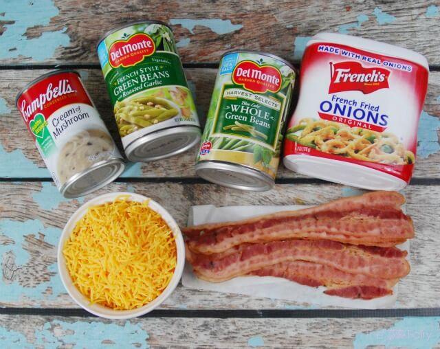 Cheesy Bacon Green Bean Casserole #ad #ThisIsMyTwist   The TipToe Fairy