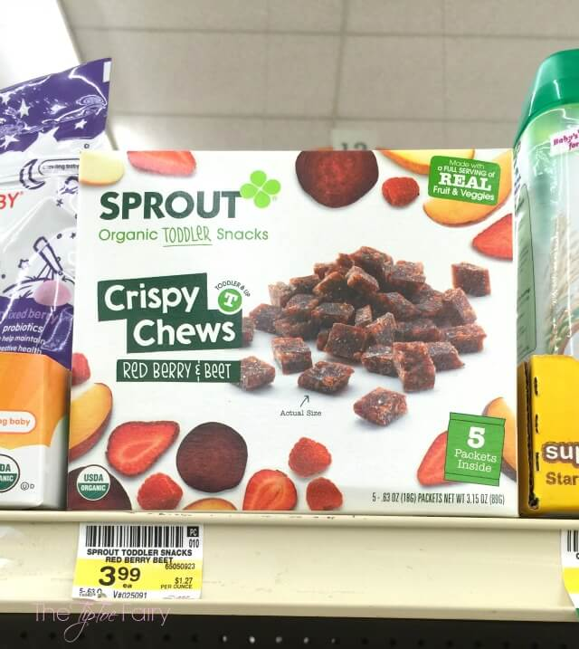 My Top FIVE Reasons why @SproutFoods are my favorite baby & toddler foods! #ad #SproutBabyFoods | The TipToe Fairy