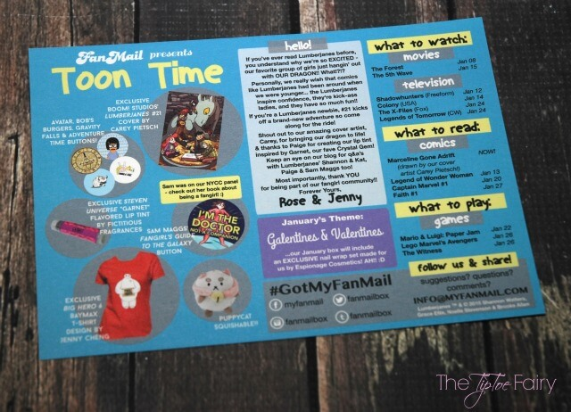 See my #review for FanMail's December Toon Time Box! #AD #geekgirl #nerdgirl