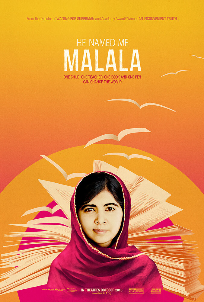 HE NAMED ME MALALA - World Premier 2/29 on NAT GEO! #WithMalala #ad