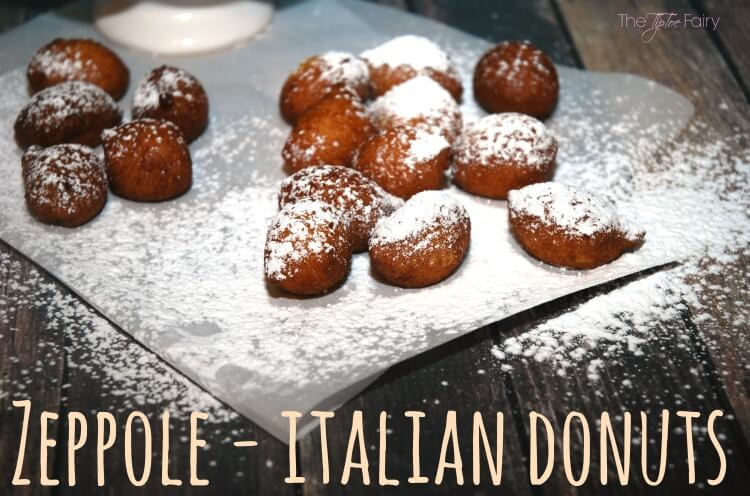 Zeppole Italian Donuts - so easy! Come see the rest of the Italian Feast! #food #yum