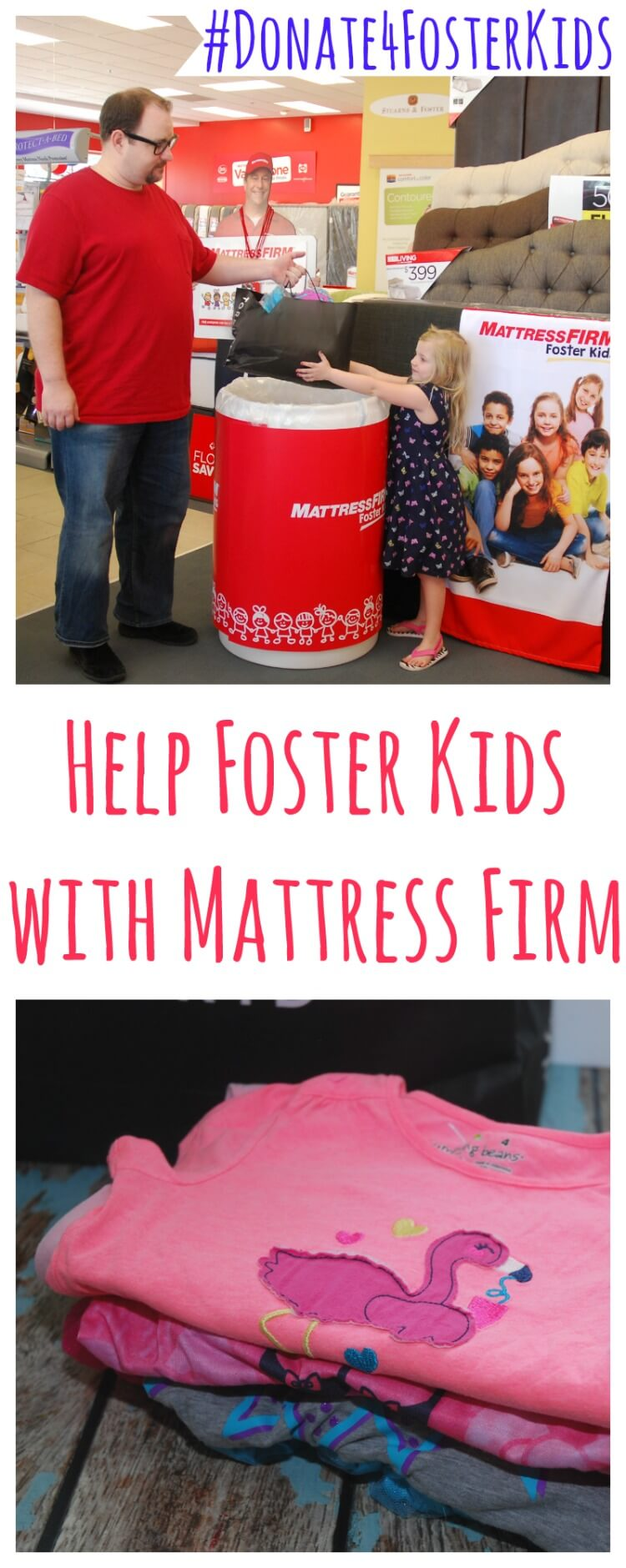 AD: Help @MattressFirm & #Donate4FosterKids w/the Kid Heroes #contest!