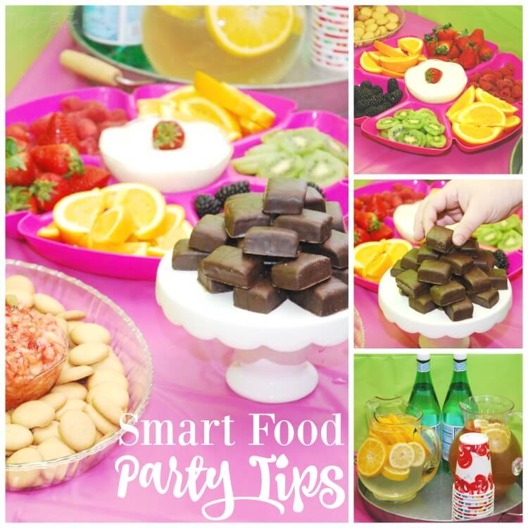 Smart Food #Party Tips for your calorie conscious guests! #TasteAndBelieve #IC #ad