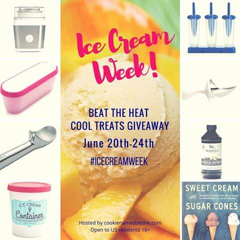 Win a Cuisinart Ice Cream Maker and more for #IceCreamWeek! Enter to #win #giveaway