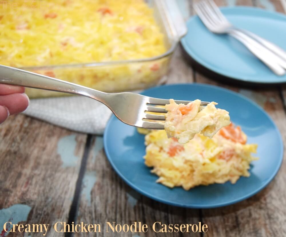 Make this Creamy Chicken Noodle Casserole w/ingredients from @DollarGeneral! #ad #food #foodie