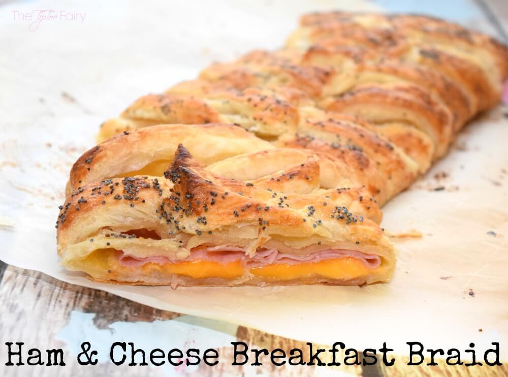... this easy Ham and Cheese Breakfast Braid #ad @Walmart