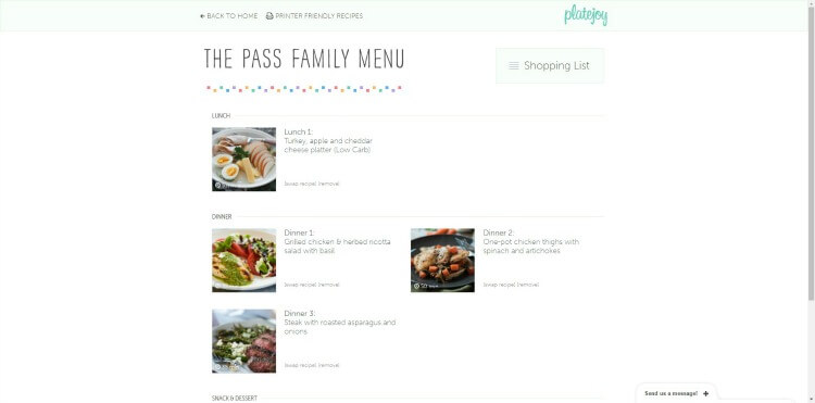 Come see our experience cooking healthy meals for the whole family with PlateJoy! #ad