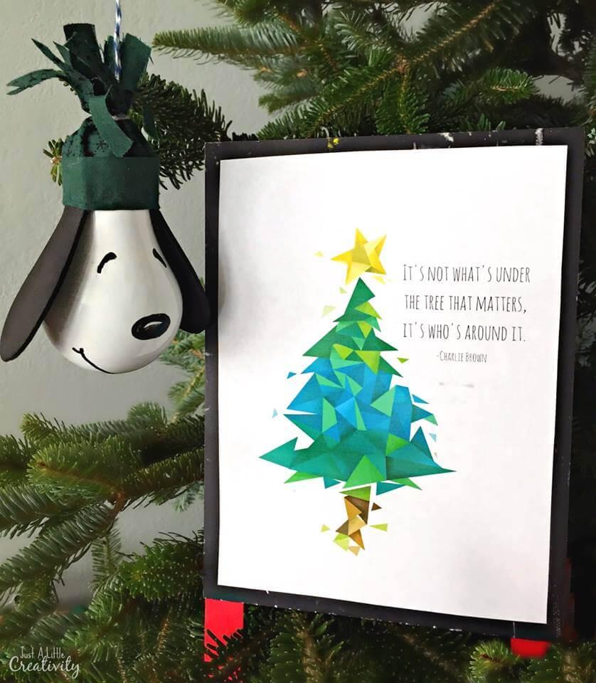 A Charlie Brown Christmas - Snoopy Ornament