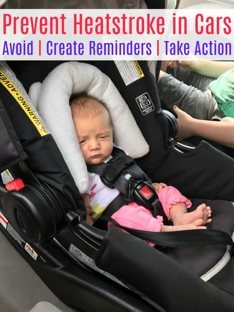 Don't Leave the Baby! Tips to make sure you always #CheckForBaby before leaving the car! #IC #ad
