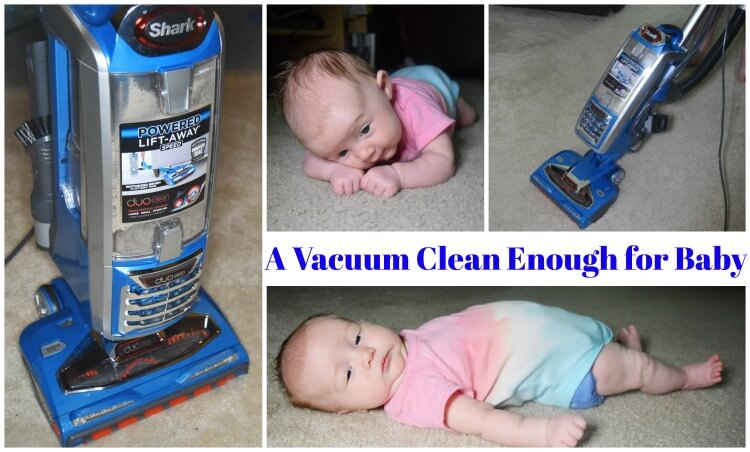A Vacuum Clean Enough for Baby's Tummy Time? Check it out! #ad