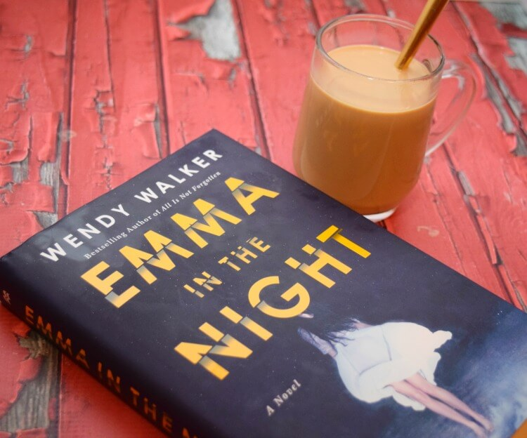 Check my #bookreview for Emma in the Night w/ a mug of Dulce de Leche coffee!  #WhatHappenedtoEmma! #ad @StMartinsPress @SheSpeaksUp