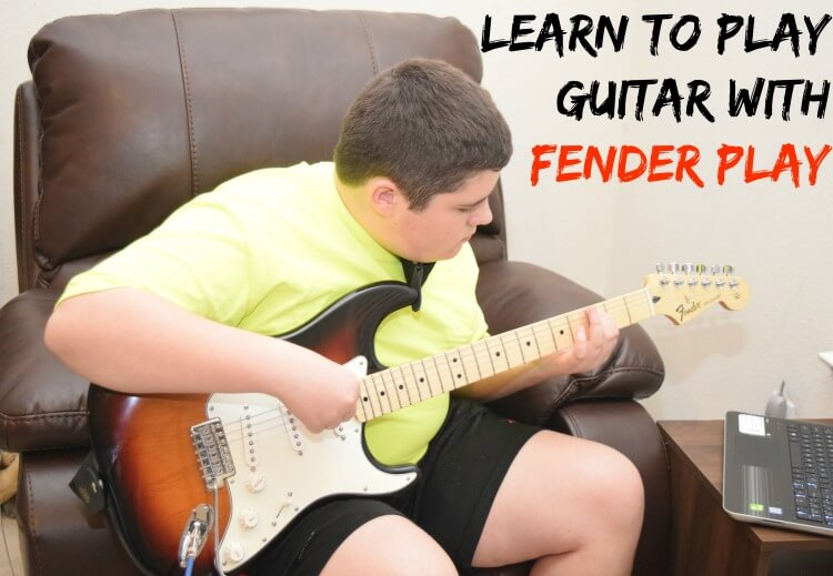 Your Teen Can Learn to Play Guitar with #FenderPlay w/ @Fender #CLVR #AD