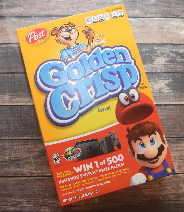 Enter to win a Nintendo Switch with Post Cereals! #ad