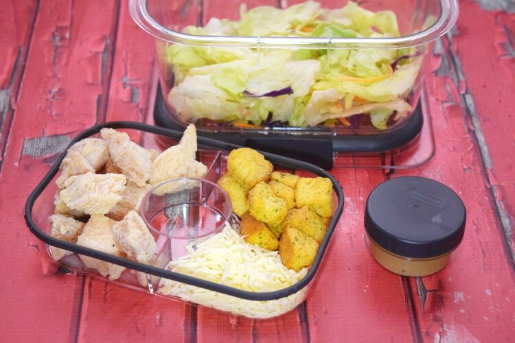 Eat like a Grown Up w @Rubbermaid #StoredBrilliantly! Come win your own! #ad @SheSpeaksUp
