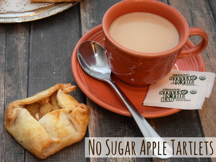 Grab the recipe for No Sugar Rustic Apple Tartlets with #OrganicStevia #InTheRaw @InTheRaw @SheSpeaksUp #ad