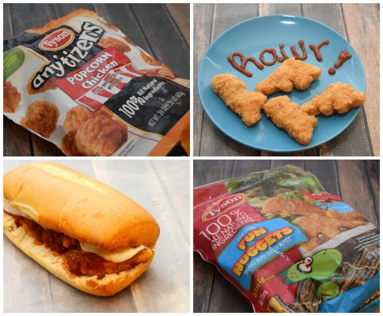 "Look for Tyson® chicken products with the label ""No Antibiotics Ever"" #ad"