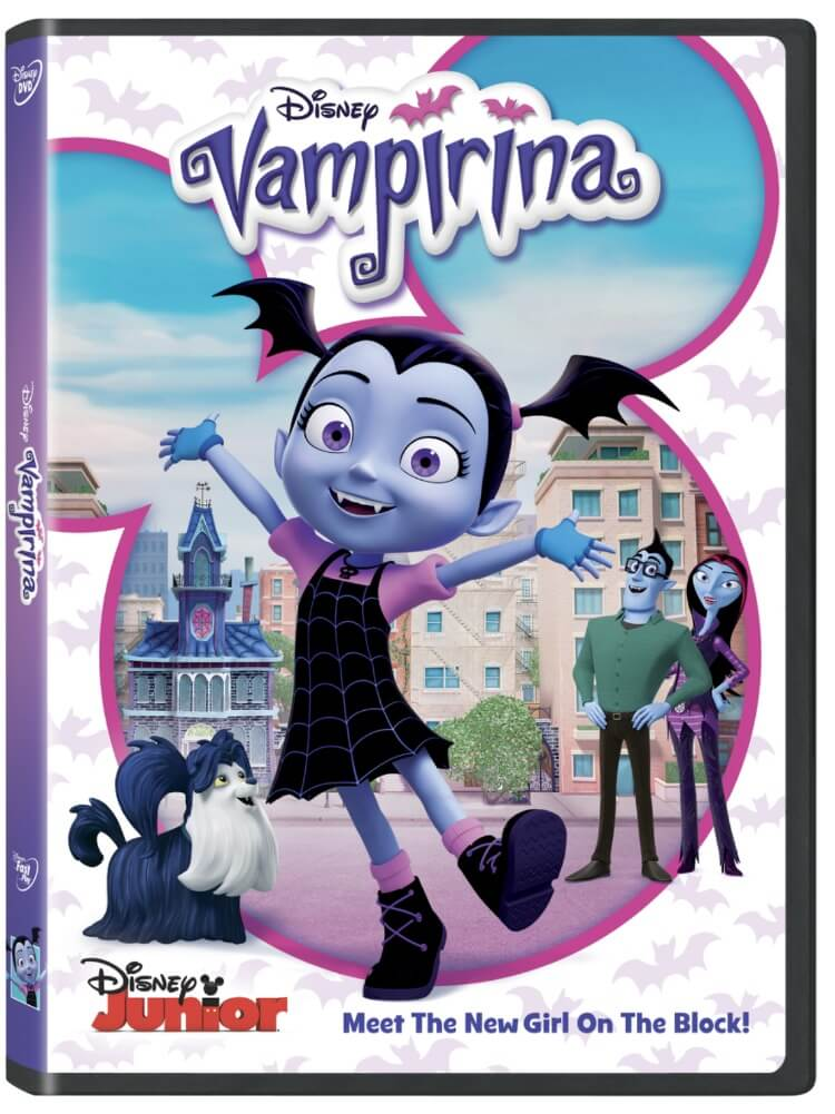 Come check out the new DVD for Disney Junior's Vampirina! Enter to win a copy of your own! #ad