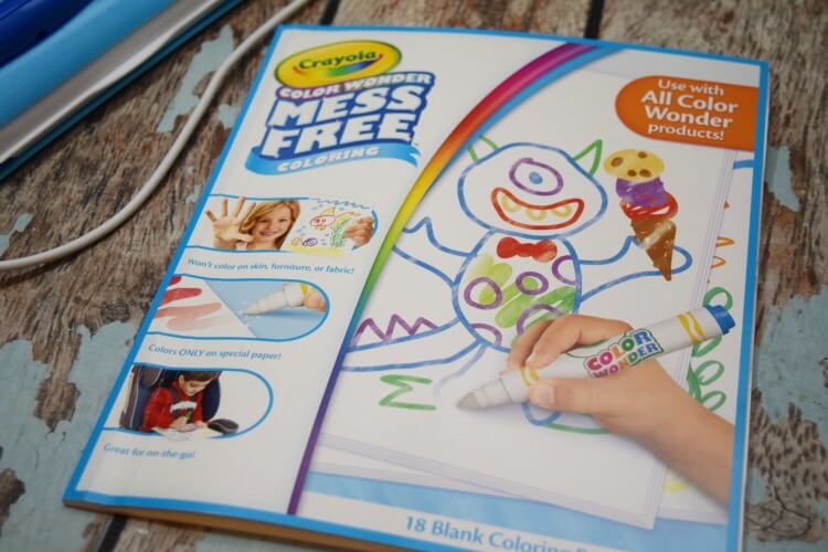 Check out #ColorWonder Magic Light Brush & Drawing Pad & Enter to #win $100 credit to @Crayola! #ad