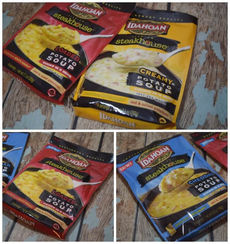 #AD Try some @IdahoanFoods new thick, rich & flavorful #IdahoanSoups, ready in just 5 minutes!