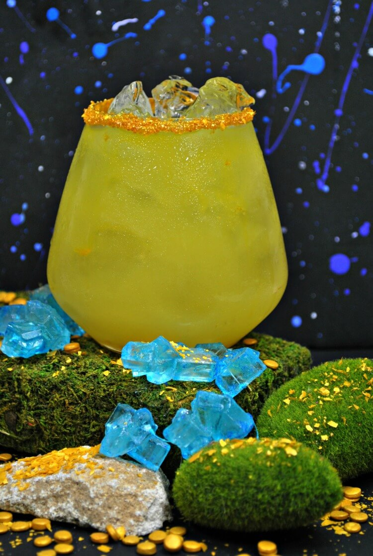 How to make an Avengers Infinity War Thanos Mocktail! #infinitywar