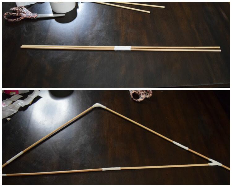 Making Your DIY Trash Bag Kite!