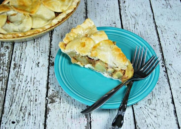 Cream Cheese Dulce de Leche Apple Pie