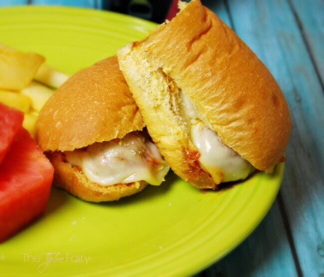 Shh! Secret Ingredient Meatball Sandwiches