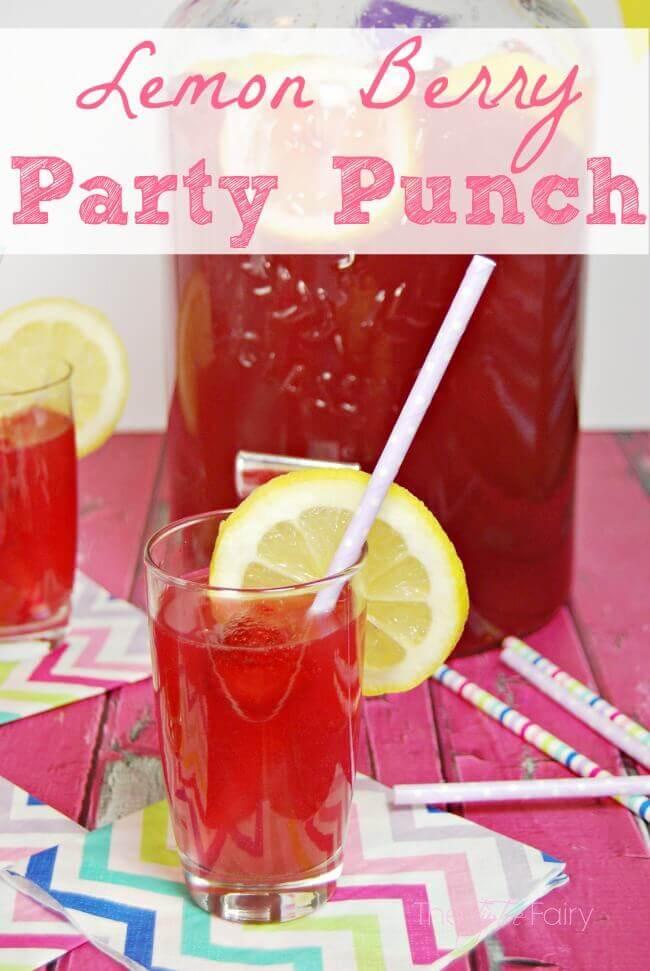 Lemon Berry Party Punch