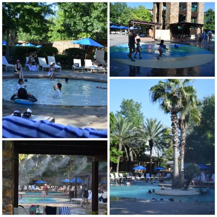 The water park at The Woodlands Resort
