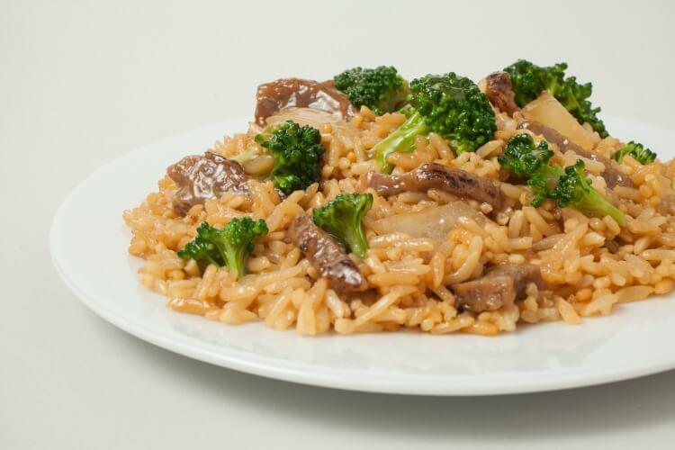 Tai Pei Beef & Broccoli - plated