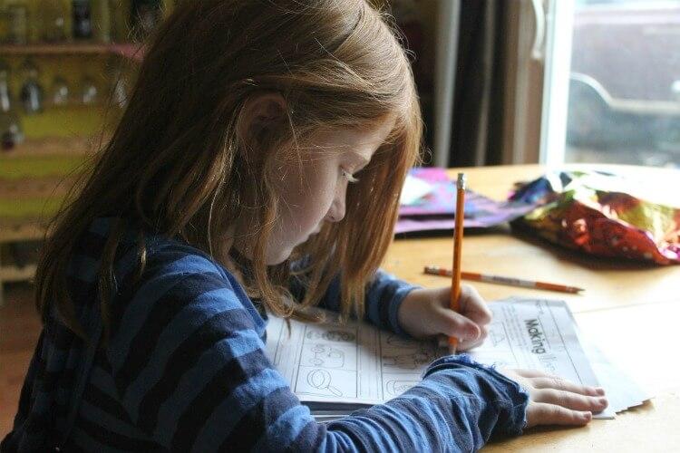 Have them work through a grade level workbook.