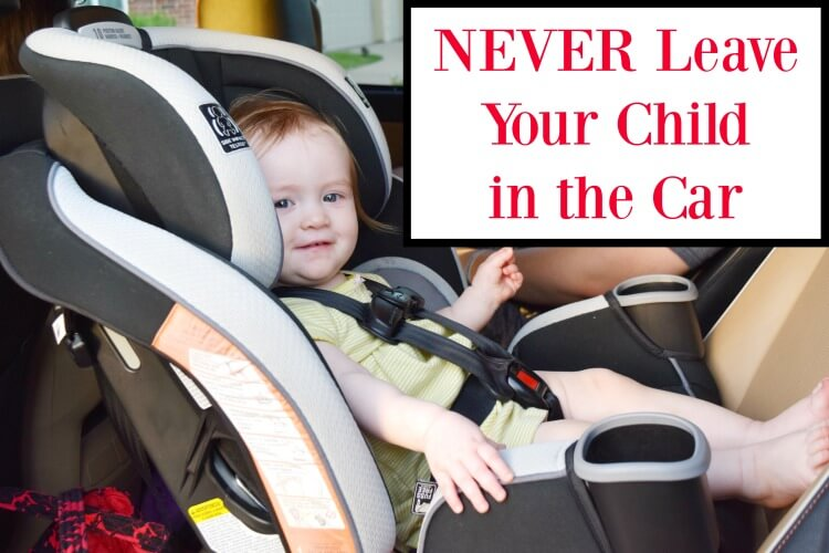 NEVER Leave Your Child in the Car